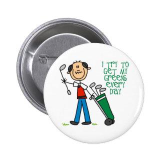 Consiga a mis verdes cada botón del día pins