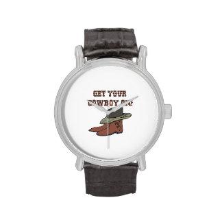 Consiga a su vaquero en 2 relojes