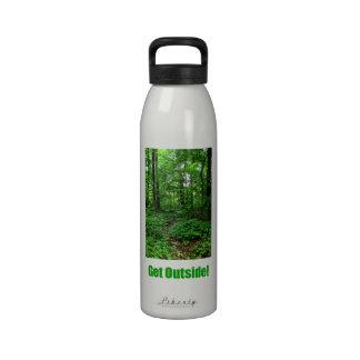 ¡Consiga afuera Botella de agua