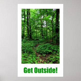 Consiga afuera póster