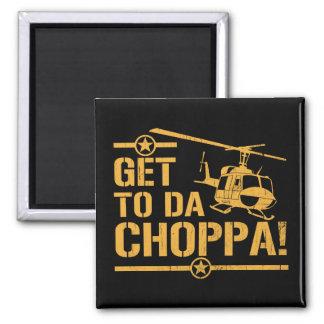 Consiga al vintage de DA Choppa Imán De Nevera