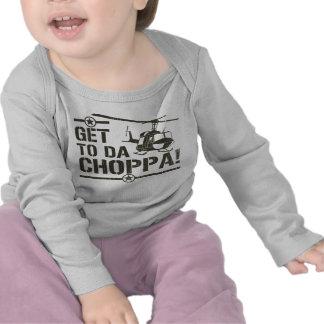 Consiga al vintage de DA Choppa Camisetas