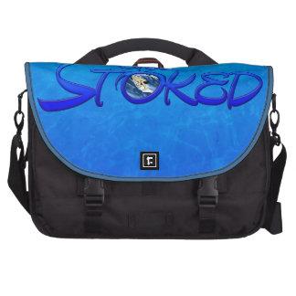 Consiga alimentado bolsas para portatil