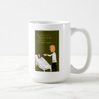 Consiga bien pronto taza básica blanca