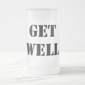 Consiga bien taza de cristal