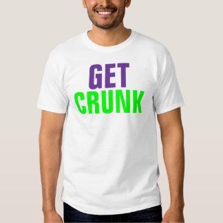 Consiga Crunk Playera
