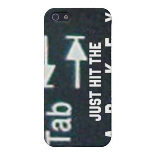 ¡Consiga de él! iPhone 5 Carcasas