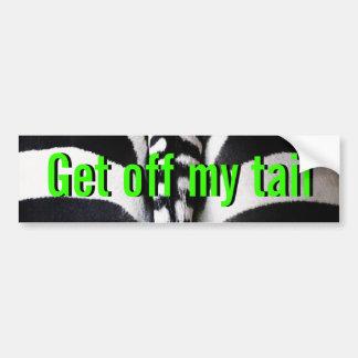Consiga de mi cola - pegatina para el parachoques  pegatina para auto