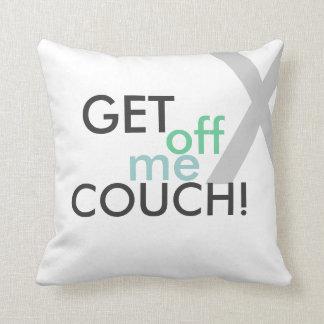 Consiga de mí la almohada de tiro del sofá