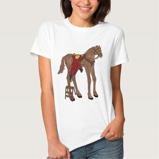 Consiga de su alto caballo playera