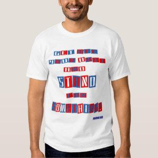 Consiga de su camiseta básica del tamaño extra playeras