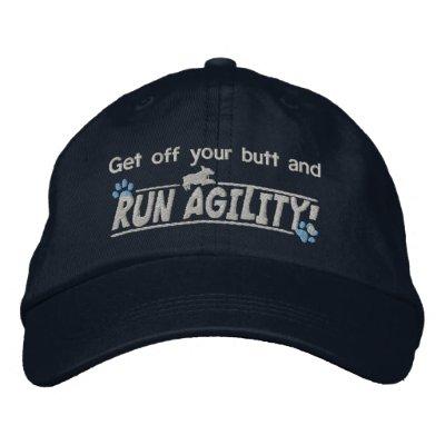 Consiga de su gorra bordado oscuridad de la agilid gorra de béisbol