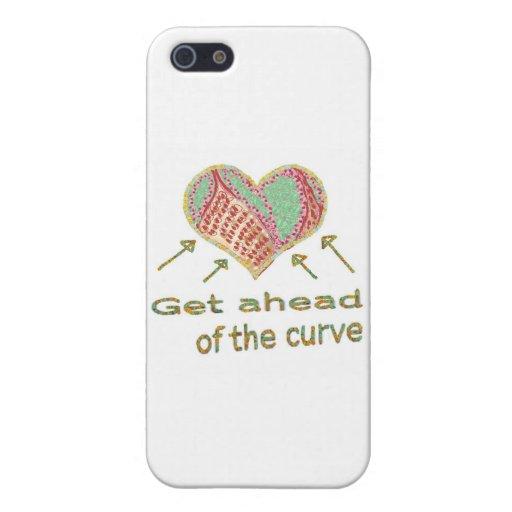 Consiga delante de la curva - jerga de la gestión iPhone 5 funda