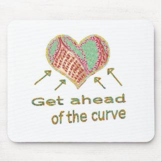 Consiga delante de la curva - jerga de la gestión tapete de ratones