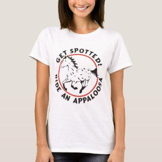 Consiga el Appaloosa manchado del leopardo Playera