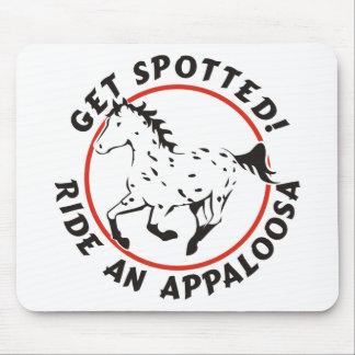 Consiga el Appaloosa manchado del leopardo Tapete De Ratón