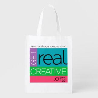 Consiga el bolso creativo REAL Bolsas Para La Compra