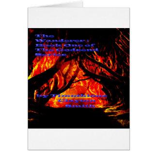 Consiga el camino oscuro del vagabundo en todo tarjeta de felicitación