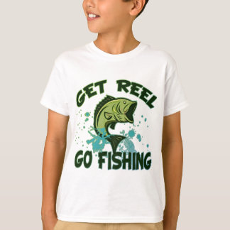 Consiga el carrete van a pescar playeras