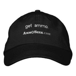 Consiga el casquillo del logotipo de AmmoSeek de l Gorra De Béisbol