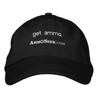 Consiga el casquillo del logotipo de AmmoSeek de l Gorro Bordado