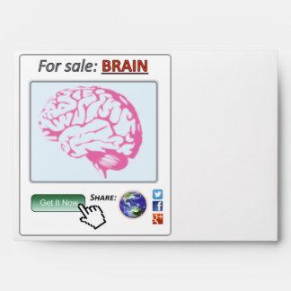 ¡Consiga el cerebro! Sobres