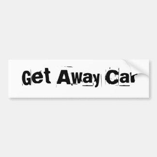Consiga el coche ausente pegatina para auto