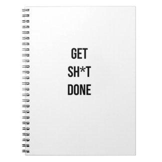 Consiga el cuaderno hecho Sh*t