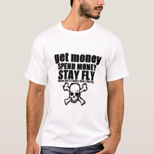 CONSIGA el DINERO PASAN la camiseta de la MOSCA de