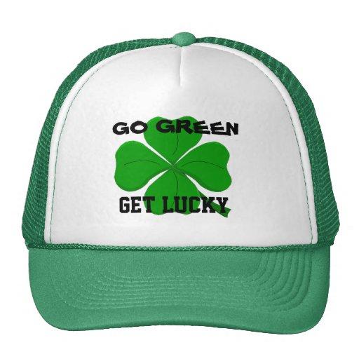 Consiga el gorra afortunado
