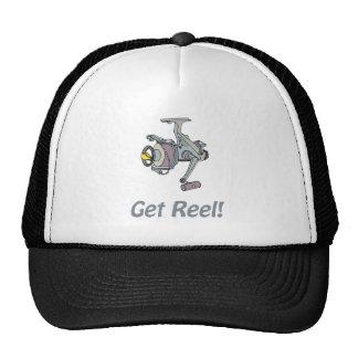 Consiga el gorra del carrete