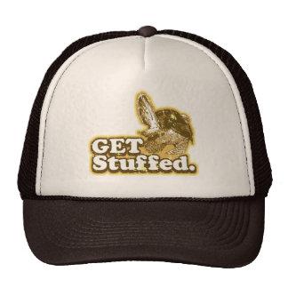 Consiga el gorra divertido relleno del camionero d