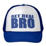 Consiga el gorra real del camionero de Bro (azul)