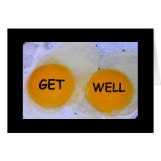 ¡Consiga el Huevo-stra bien rápido! Consiga la Tarjeta De Felicitación