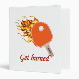 "Consiga el ping-pong llameante quemado carpeta 1"""