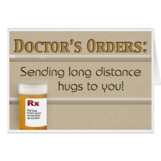 Consiga el pozo - Orders del doctor Tarjeta