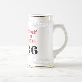 Consiga el stein elegante taza