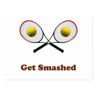 Consiga el tenis roto tarjetas personales