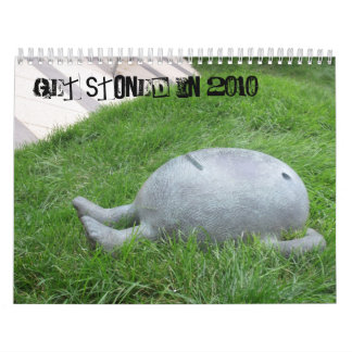Consiga empedrado en 2011 calendario de pared