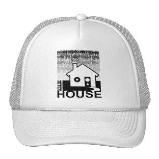 Consiga en la música de la casa gorra