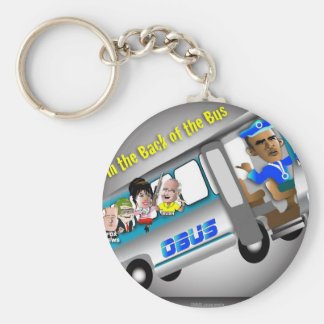 Consiga en la parte posterior del autobús llavero