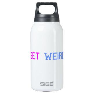 Consiga extraño botella isotérmica de agua