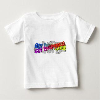 Consiga inspirado - camiseta infantil playeras