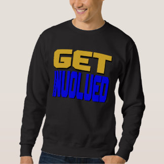 Consiga la camiseta implicada sudaderas encapuchadas