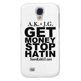 Consiga la parada Hatin del dinero Funda Para Galaxy S4
