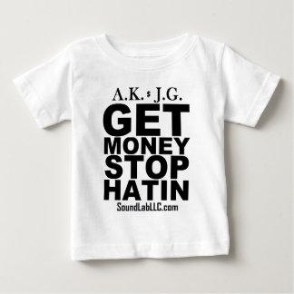 Consiga la parada Hatin del dinero Playera