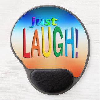 ¡Consiga la risa inspirada del ~ apenas! Alfombrillas Con Gel