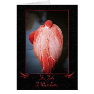 Consiga la tarjeta bien del flamenco