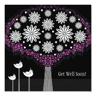Consiga la tarjeta de felicitación de las flores invitación 13,3 cm x 13,3cm
