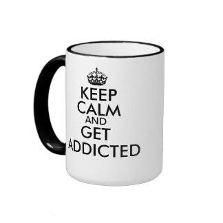 Consiga la taza adicta